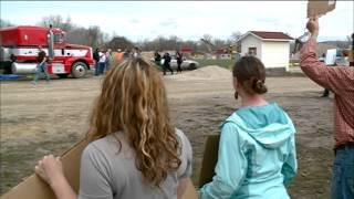 34 people arrested during Winona frac sand mining protest