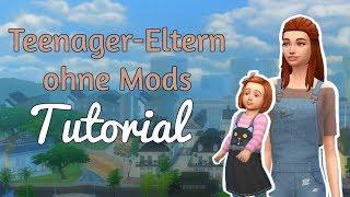 Sims 4: Teenager haben Kinder | ohne Mods - Tutorial [deutsch]