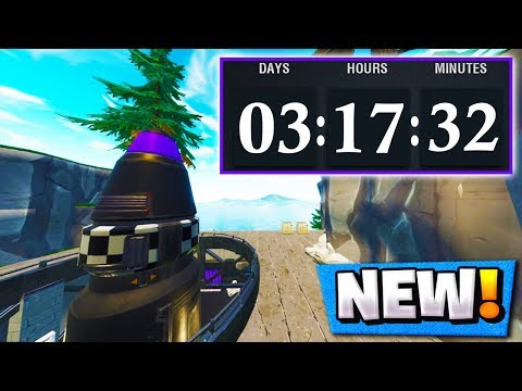 The *NEW* Fortnite Countdown! | What Does it Mean? ( Season 5 Nuke Event )