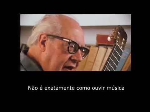 Andrés Segóvia fala sobre como compor para violão LEGENDADO