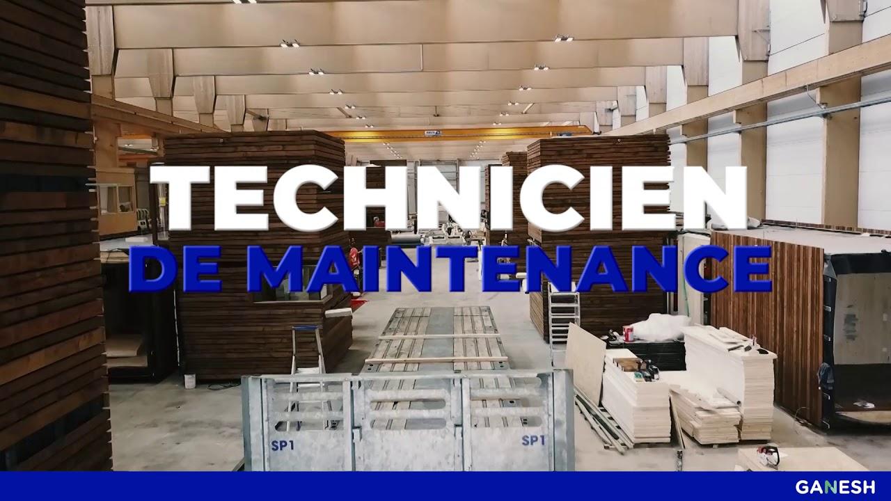 GANESH/ Idelux - Technicien de maintenance X BuzzLab