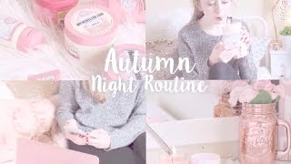 ♡Autumn Night Routine & 100k HUGE GIVEAWAY! | Floral Princess♡