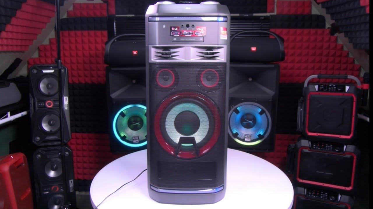 LG XBOOM OK99 - Home Entertainment System w/ Karaoke & DJ Effects - YouTube
