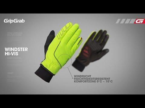 GripGrab HI-VIS Running Expert Glove