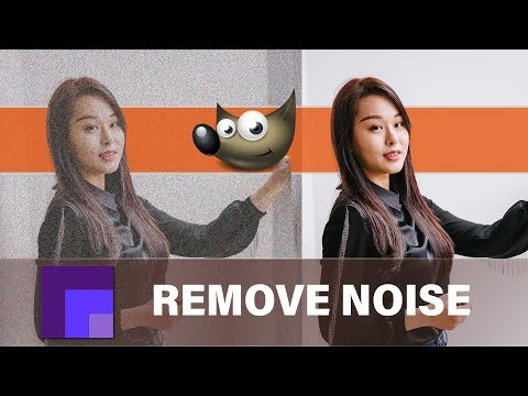 Remove Noise with Wavelet Denoise in Gimp 2.10