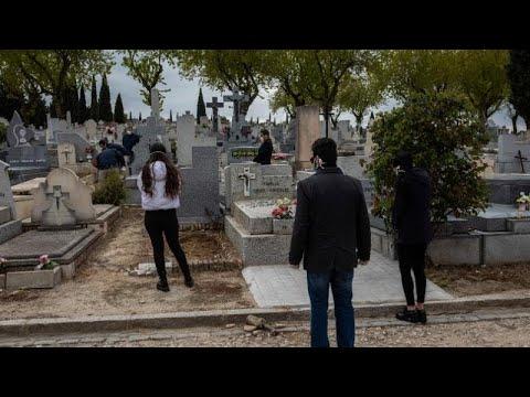 Spagna piegata dal Covid-19: 832 morti nelle ultime 24 ore, 5.694 decessi complessivi