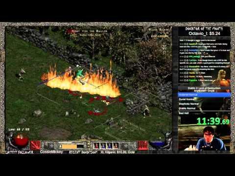 Diablo  Necro Speedrun Build