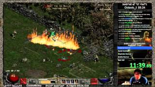 Diablo 2 Hell Druid Speedrun World Record - 9:47:35