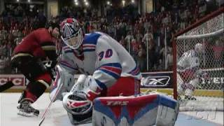 NHL 07 Xbox 360 Gameplay-Cinematic - Between The Posts