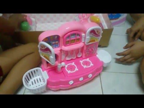 ใหม่ชุดเครื่องครัวบาร์บี้ Barbie's new cookware