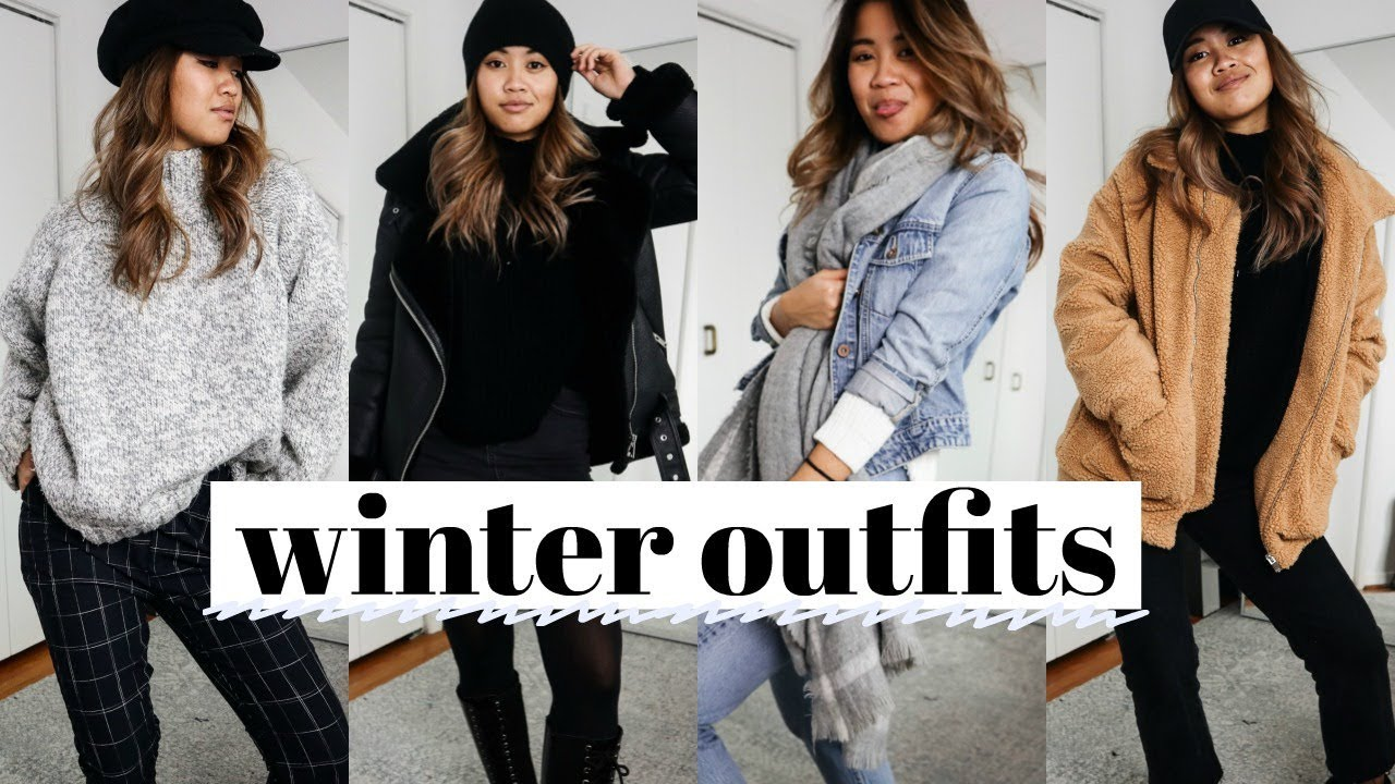 Cute Winter Outfits 2017 Rachspeed Youtube