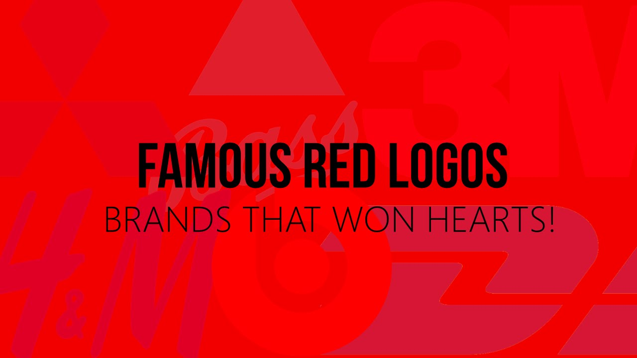 Famous Red Logos: Brands That Won Hearts! - YouTube