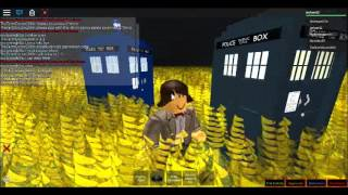 roblox doctor who travel in time 12th tardis sonic cane sonic sunglasses