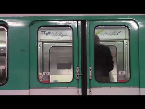 Two Unusual Paris Metro Stations, May, 2017