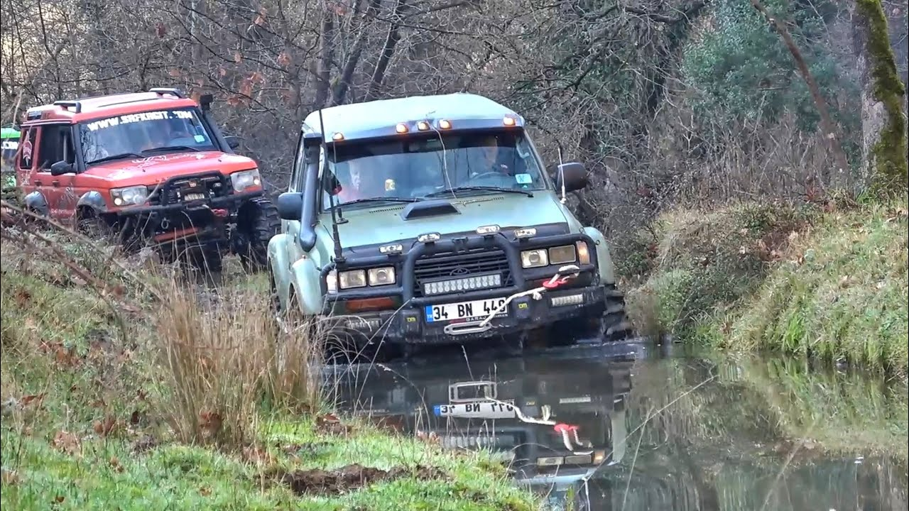 Toyota Land Cruiser 80 & Land Rover Discovery TD5 & V8 - OFF-ROAD