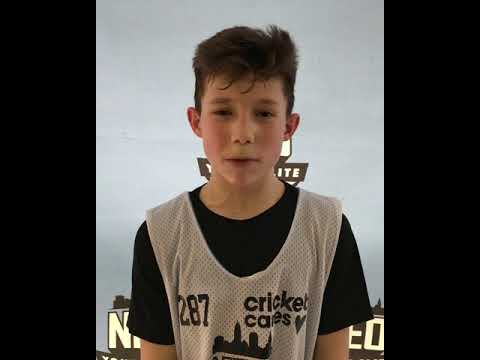 Aidan Enoch (Hickory Middle/Hermitage, PA) 2023 4'11 PG