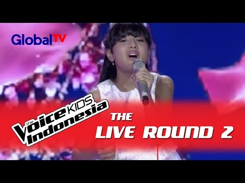 "Kayla ""Broken Vow"" I The Live Rounds I The Voice Kids Indonesia GlobalTV 2016"