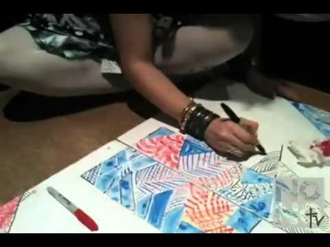 Damon Dash Presents  DASH GALLERY GRAND OPENING  Nyssa Creates  Part 3 Of 5     YouTube