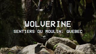 Pat Pero rides Wolverine in Sentiers Du moulin, Quebec // [POV] Perspective on Velocity