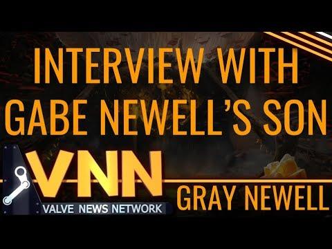 Meet Gabe Newell's Son