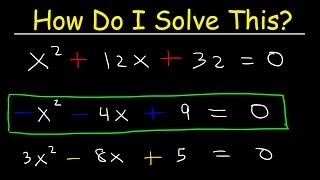 How To Solve Quadŗatic Equations By Completing The Square?