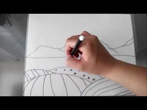 Dibuja Fácil Una Pradera