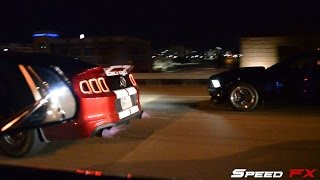 CTS-V VS Porsche VS GT500 VS Twin Turbo 5.0