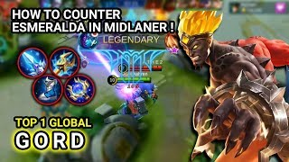 BEST GORD PLAYER ! TOP 1 Global Gord Ashren Gord Gameplay - Mobile Legends