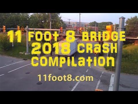 11Foot8 Bridge 2018 Crash Compilation Mp3