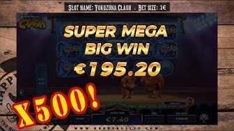 Yokozuna Clash  - Online slot game - SUPER MEGA BIG WIN and a 500x bonus!
