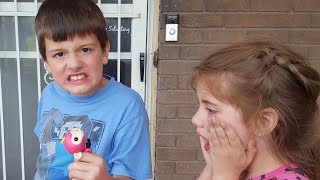 Kid Temper Tantrum Breaks Sister's Fingerlings Monkey Toy [ Original ]