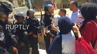East Jerusalem: Israeli security forces clash with Palestinians at Al-Aqsa Mosque