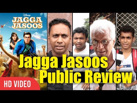 Jagga jasoos Movie Public Review | Ranbir Kapoor, Katrina Kaif | Jagga Jasoos Movie Review