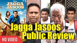 Jagga jasoos Movie Public Review | Ranbir Kapoor, Katrina Kaif | Jagga Jasoos Movie Review
