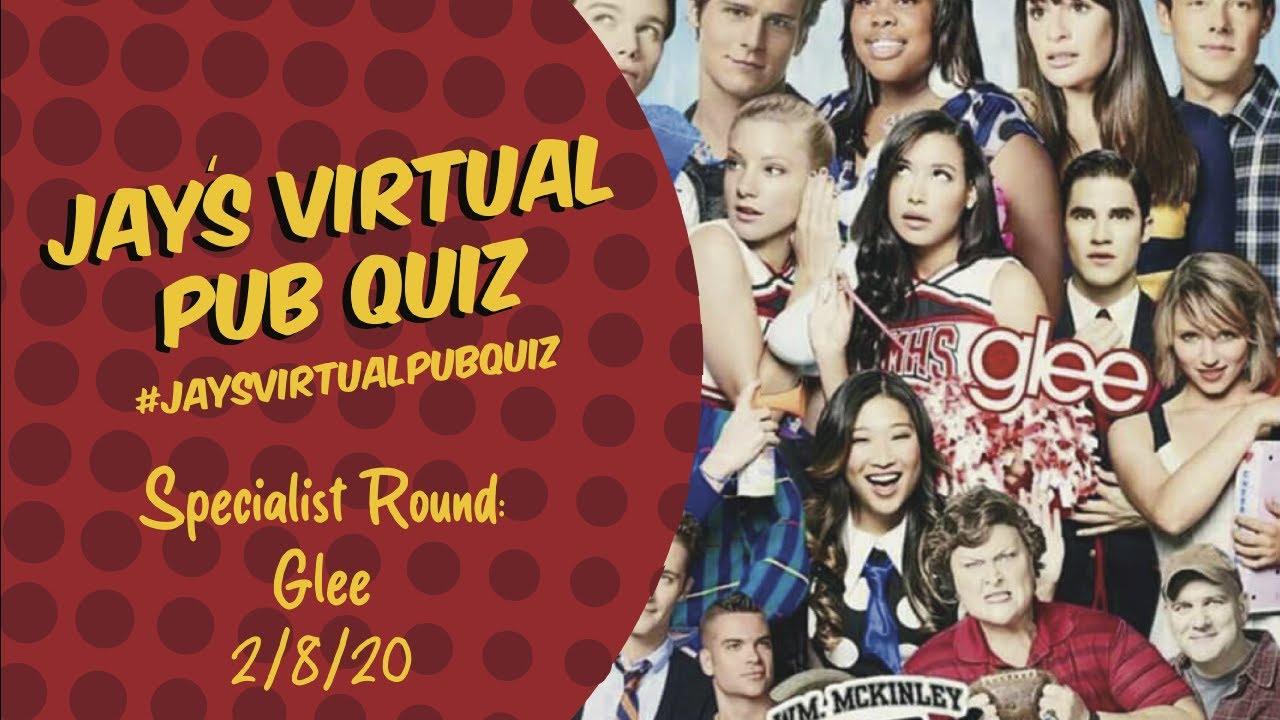 Virtual Pub Quiz, Specialist Glee Quiz