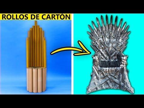 25 SÚPER CREATIVAS MANUALIDADES DE CARTÓN