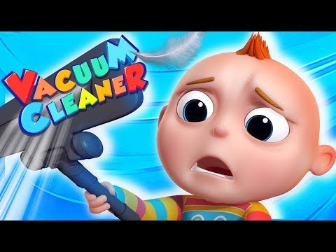 TooToo Boy - Vacuum Cleaner   Cartoon Animation For Children   Kids Shows By Videogyan