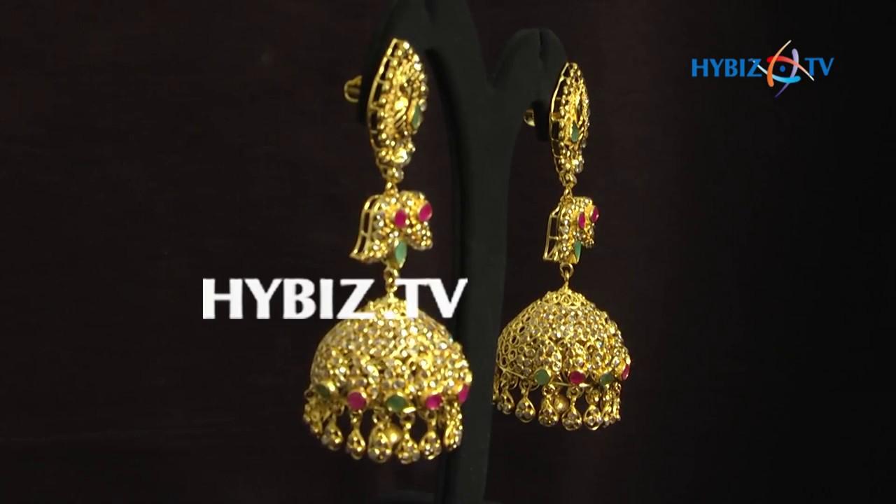 Latest Uncuts Jhumka Collection   Malabar Gold and Diamonds - YouTube