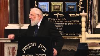 Rabbi Israel Meir Lau Talmud 22/10/14 הרב ישראל מאיר לאו תלמוד