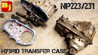 How To Build a NP233/231 Hybrid Transfer Case