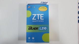 Unboxing ZTE L210