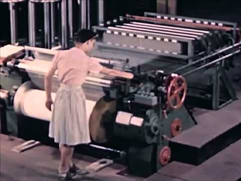 How Textile Mills Are Modernizing (1948) - CharlieDeanArchives / Archival Footage