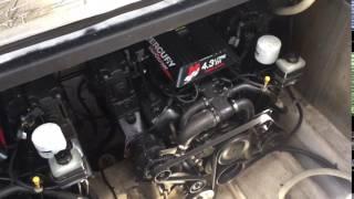 Mustang 3200 Motor Run