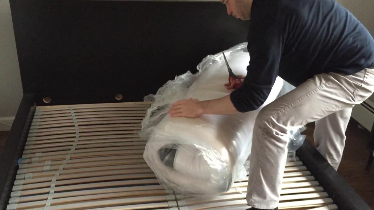 cariloha mattress unboxing