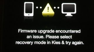 Solucion ! a firmware upgrade encountered an issue