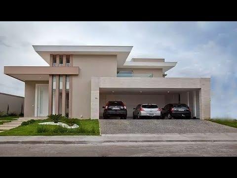 Modern Beautiful Double Floor House 1500 Sft Elevation