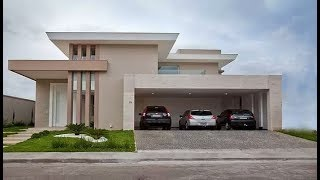 Modern Beautiful Double Floor House 1500 Sft  | Elevation | Design | Interior