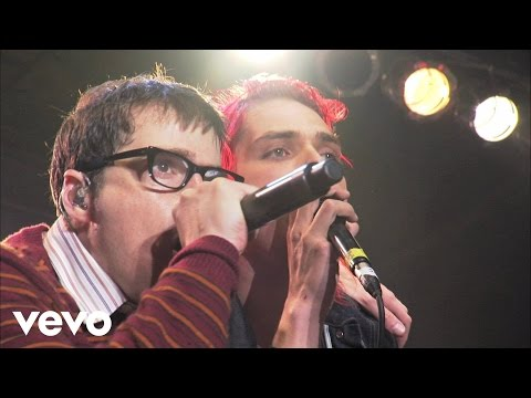 Weezer - My Name Is Jonas (Live at AXE Music One Night Only) ft. My Chemical Romance
