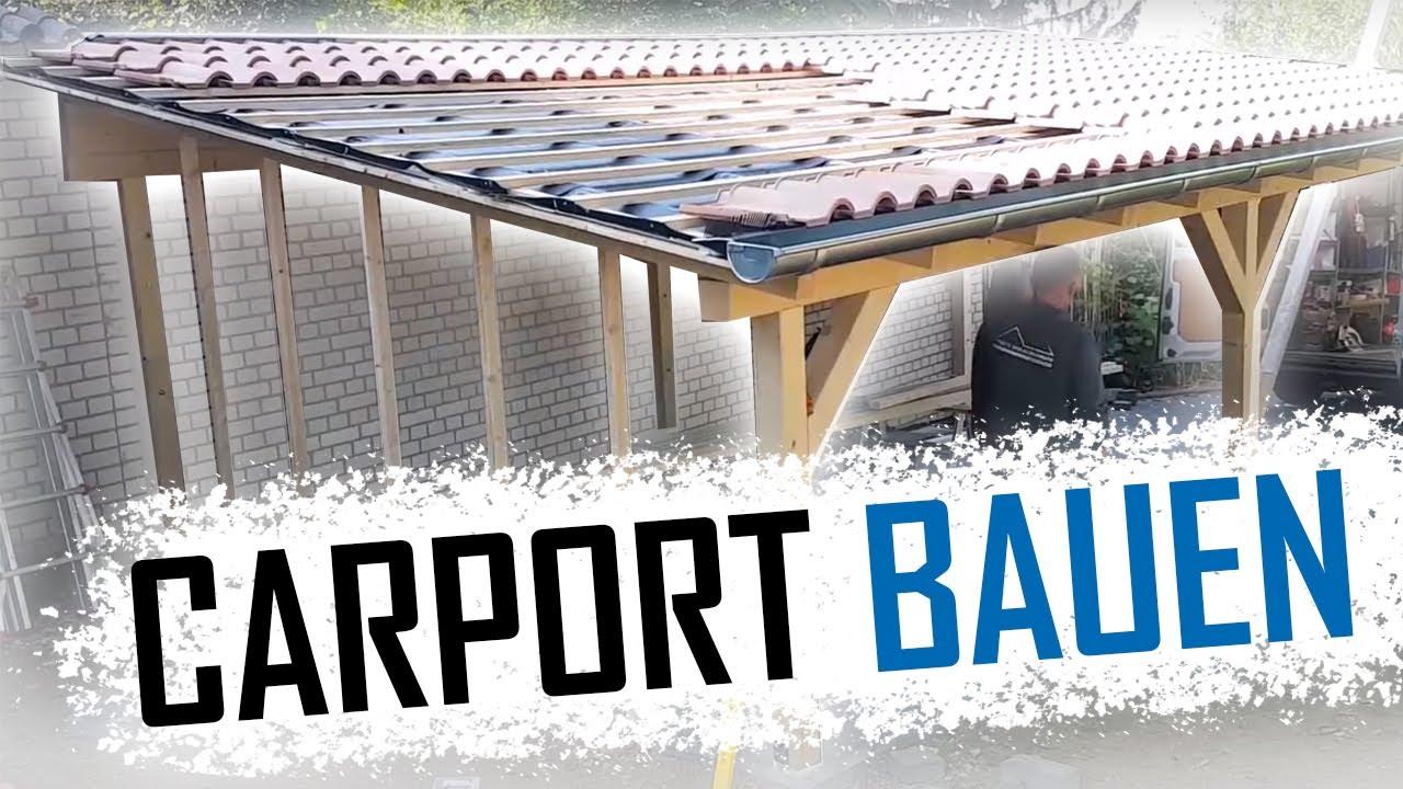 Dachdecker / Wie Baut Man Ein Carport? / How To Build A Carport
