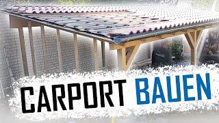 Dachdecker / Wie baut man ein Carport? / How to build a carport?